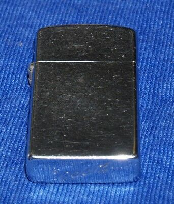 Vintage 1958 ....  ... Zippo Chrome Slim Lighter