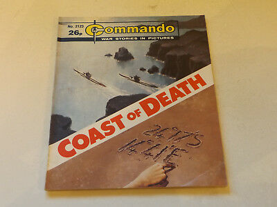 Commando War Comic Number 2123,1987 Issue,good For Age,31 Years Old,very Rare.