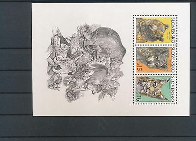 33958 / Fauna ** MNH Block Katze Cat Slowakei