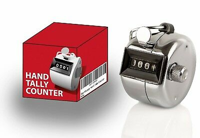 SportSupply Pitch Metal Tally Counter Clicker - 0 to 9999 - Coach Clickers for B