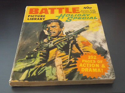 BATTLE PICTURE LIBRARY HOL SP,dated 1980!,GOOD FOR AGE,VERY RARE,38 yrs old.