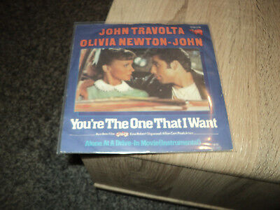 single Vinyl  POP  Travolta / Newton John   youre the One that i want