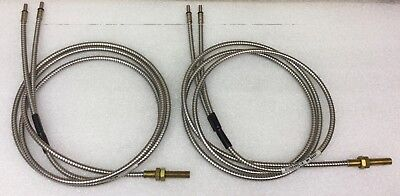 Banner Model 20068 Bt16S Fiber Optic Cable [Set Of 2] New In Box