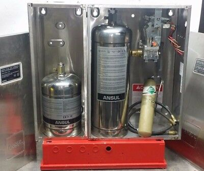 ANSUL  R102 4.5 Gallon WET CHEMICAL  RESTAURANT FIRE SUPPRESSION SYSTEM