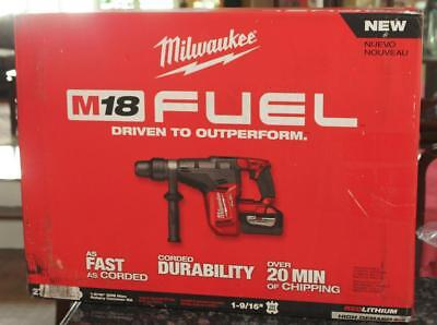 Milwaukee 2717-22HD M18 FUEL 1-9/16 SDS Max Rotary Hammer HD Kit Cordless New
