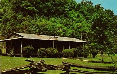 Dr Jim Stamps Us General Dickel Country Store Distillery Chrome View Postcard