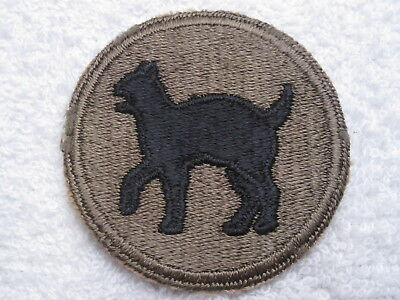 Ww Ii Us Army 81St Infantry Division Patch 100% Authentic Original &  100% Mint