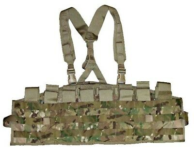US Army Chest Rig Tactical Assault Panel w/ Shoulder Harness Multicam NEW