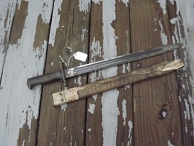 WW1 US Model 1905 Springfield Bayonet