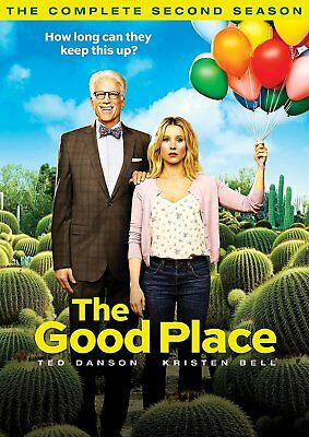 The Good Place: The Complete Second Season 2 (2018, DVD, 2-Disc Set)