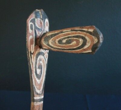 Extremely rare, old Humboldt Bay dance wand