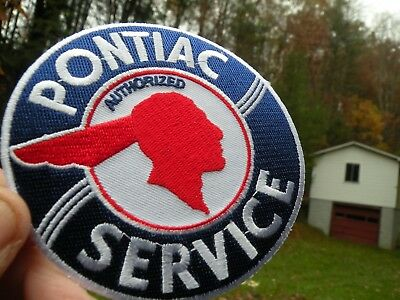 PONTIAC Chief     patch 4 inch cloth