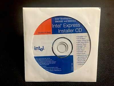 BRAND NEW Intel Express Installer Driver CD - D865GBF / D865GLC