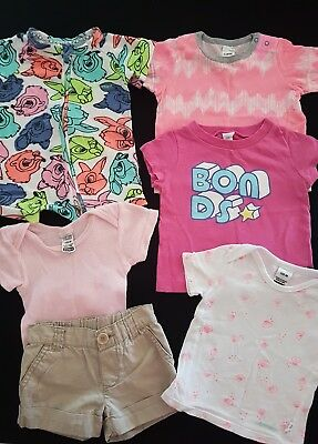 **BONDS** SIZE 00 BUNDLE~GIRLS~BAMBI~ZIPPY~SEASHELL~Shirts~Shorts~ALL BONDS!!