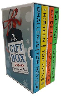 Tom Hoyle Collection  Challenge Thirteen Spiders 4 Books Gift Wrapped Box Set