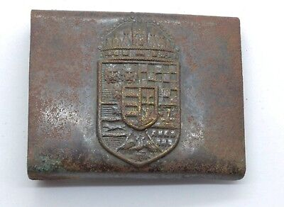 WW1 period Hungary soldier belt buckle