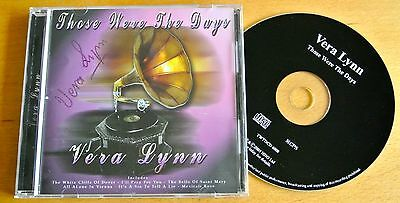 Dame Vera Lynn Hand Signed Autograph Those Were The Days Cd Ww2 Forces & Coa