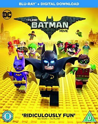 The LEGO Batman Movie [Blu-ray + Digital Download] [2017] -  CD I0VG The Fast