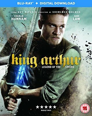 King Arthur: Legend of the Sword [Blu-ray + Digital Download] [201... -  CD 24VG