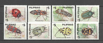 Tiere, Animals, Insekten, Käfer - Philippinen - 3175-3182 ** MNH 2000