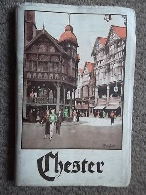 CHESTER Official Guide 12th Edition (1930's?) Ed. J. Burrow