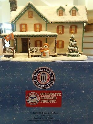 Ridgewood Collectibles ~ Henry's Holiday Home 2001 ~ University Of Tennessee