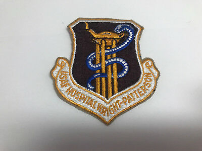 US Air Force USAF Hospital Wright Patterson    patch