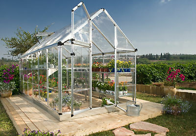 Palram Snap & Grow 6 Ft. W x 16 Ft. D Polycarbonate Greenhouse