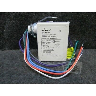 nLight nPP16 DS Dimming Power Pack, 120/277VAC, 16A