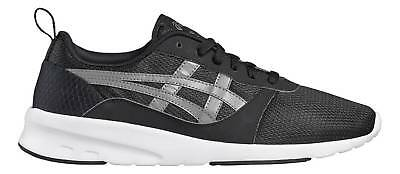 Asics Tiger Men's Casual Shoes Trainers Lyte-Jogger Black/Grey