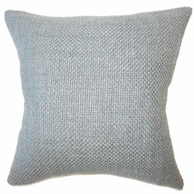 Gracie Oaks Nik Solid Down Filled Throw Pillow