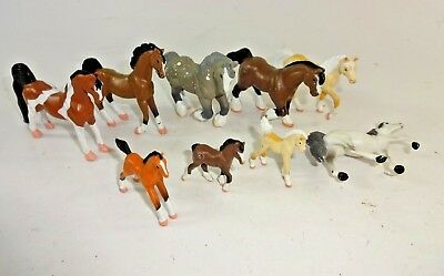 GC Grand Champion + EMPIRE Mini Whinnies Horse Figures Lot of 9 - AUC#1