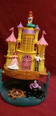 Ariel the Little Mermaid Castle and Eric and Ursula the Sea Witch Disney Princes