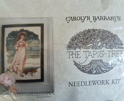 The Tapis Tree Needlework Kit  Pinkie Or The Girl In Pink  For Crewel Embroidery