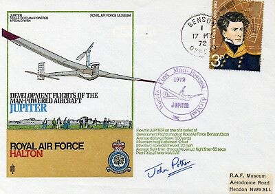 Jupiter man-powered aircraft commemorative cover