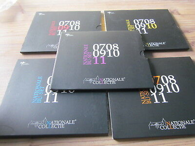 Niederlande nationale BU Set 2011 +2010+2009 +2008 +2007