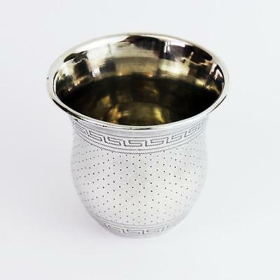 FINE ANTIQUE FRENCH SILVER BEAKER CUP c1870