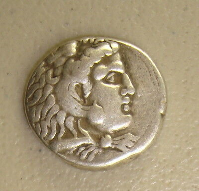 336-323 BC Alexander III the Great LIFETIME Ancient Greek Silver Tetradrachm F