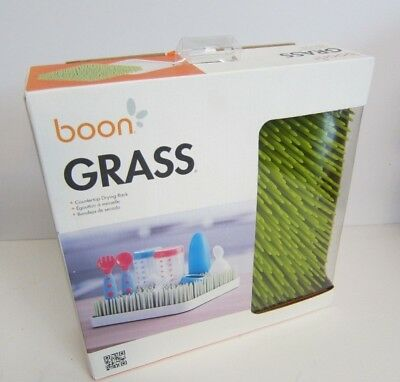 NEW boon GRASS Countertop Drying Rack Lime Green Kitchen Drainer