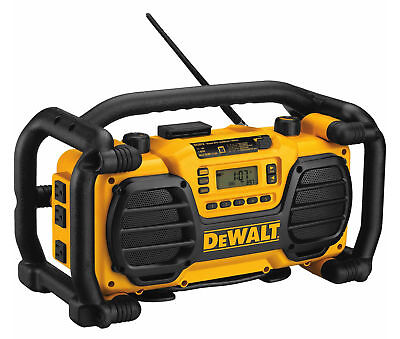 DEWALT DC012 Worksite Charger and Radio With Auxiliary Input. Comes w/1 Battery.