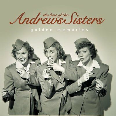 Best Of The Andrews Sisters - Golden Memories  CD NEW