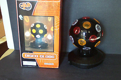 Wild Time Halloween Color Disco Ball w/ Bat Stickers For Effect NIB