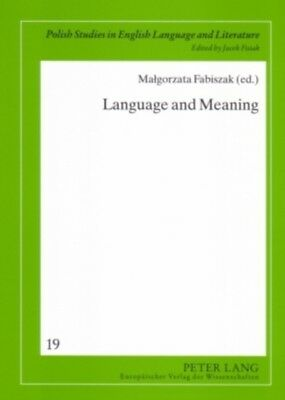 Language and Meaning: Cognitive and Functional Perspectives (Poli...