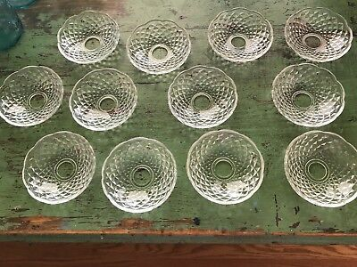 Old Lot Victorian Antique Heavy Crystal Chandelier Lamp Fixture Prism Bobeches