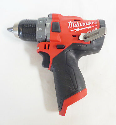 Milwaukee 2504-20 M12 FUEL 12-Volt Brushless 1/2 In. Hammer Drill (Bare Tool)