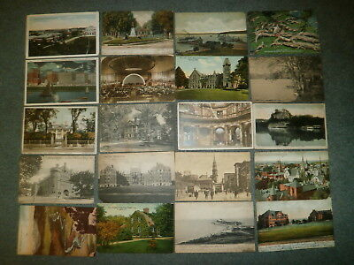 Early Postcard Collection, 1920's And Prior, 100 Cards