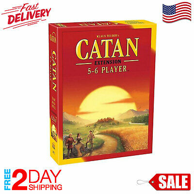 Settlers of Catan Board Game 5th Edition 5-6 Player EXTENSION EXPANSION Pack NEW