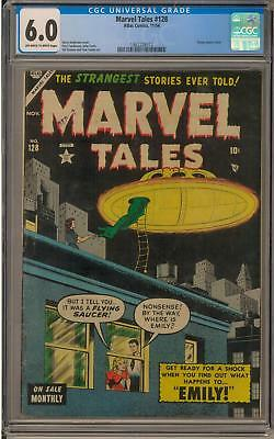 Marvel Tales #128 CGC 6.0 (OW-W) Flying Saucer Cover