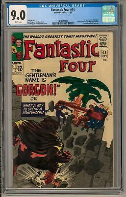 Fantastic Four #44 CGC 9.0 (W) 1st appearance of Gorgon