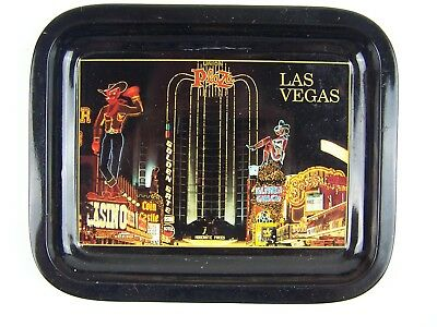 Downtown Las Vegas Vintage Tip Tray Collectible